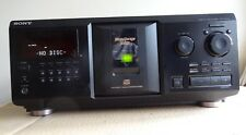 SONY CDP-CX355 Mega Storage Stereo 300CD Changer Black Compact Disc Player