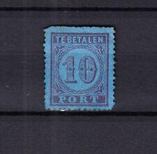 Nederland Port 2 Cijfer 1881 ongebruikt met de volle originele gom