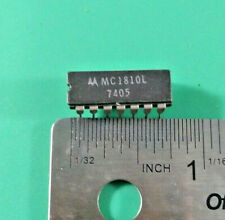 MOTOROLA MC1810L MICROCIRCUIT QUAD 2-INPUT LOGIC GATE CDIP-14