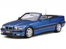 BMW e36 M3 Convertible blue diecast model car OT279 Otto 1:18