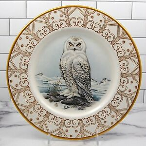 """Snowy Owl The Edward Marshall Boehm Owl Plate Collection Limited No Box 10 5/8"""""""