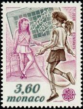 """MONACO N° 1687 """"EUROPA JEUX D'ENFANTS, CARDE A SAUTER""""xxTTB"""