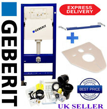 Geberit Duofix WC TOILET FRAME Wall Hung 1.12M WITH WALL BRACKETS And Mat