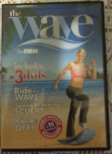 The Wave by The Firm 3 DVD Ride The Wave Speed Slimming Sculpt & Rock It Off
