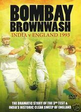 BOMBAY BROWNWASH - INDIA V ENGLAND 1993 - CRICKET DVD - FREE POST IN UK