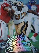 NFL 151 La'Roi Glover New Orleans Saints Fleer Ultra 1999