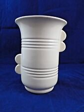 RUMRILL Red Wing POTTERY cream #629 Art Deco VASE