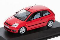 Ford Fiesta Mk5 3dr Red, dealership model, Minichamps 1:43 scale, car gift