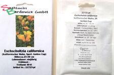 Kalifornischer Mohn Golden Cup SZB Eschscholtzia californica Samen Saatgut Saat