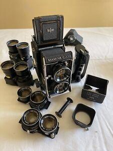 Mamiya C330 Twin Lens Reflex Full Professional Kit