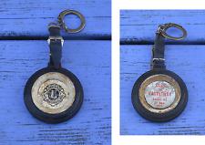 Porte-clé des années 1960-70, Lyons Club de Parthenay, étiquettes abîmées