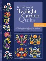 Twilight Garden Quilts 2 Wallhangings, 22 Flowers to Appliqué (Paperback Folder)