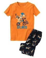 NWT BOY GYMBOREE STUNT DOG PUPPY SHORTIE GYMMIES PAJAMA PJ PJS 18-24 Mos NEW