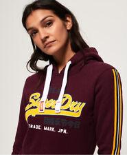 Superdry Womens Vintage Logo Applique Hoodie
