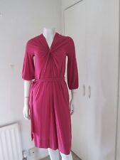 Dkny Donna Karan New York Vestido Magenta-Tamaño P UK/10 (RRP £ 225)