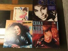 Chaka Khan x 4 CK I Feel For You Love Of A Lifetime What Cha Gonna Do For Me