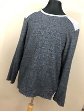 Tommy Bahama M Medium Sweater Gray Crew Neck Texture Long Sleeve Mens Size    P1