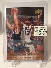 2014-15 Upper Deck March Madness Collection Gold Foil AUTO #GL2 Glenn Robinson