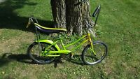 "Vintage Muscle Bike BLM Jamaica HUFFY 20"" Art Bicycle Rail Rastafarian Weed Pot"