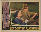 Lost Film Forgotten Women 1931 Rare Vintage Lobby Card Marion Shilling, Rex Bell