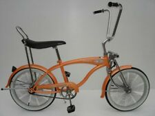 "New 20"" Lowrider Beach Cruiser Bicycle Bike Low Rider 68 spokes Saffon"