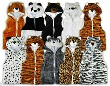 Girls' Waistcoat Coats, Jackets & Snowsuits (2-16 Years) with Hooded