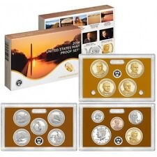 USA US Mint Proof coin set 2014 S Amerika VS (quarter dollar, 14 coins) mintset