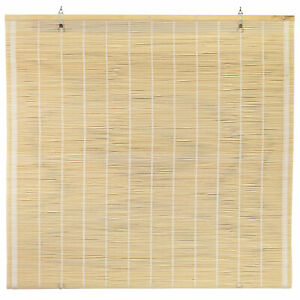 Matchstick Cordless Window Shade - Natural