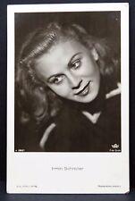 Irmin Schreiter - AK Foto - Autogramm-Karte - Photo Postcard ( G-2576