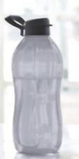 Tupperware Water Bottle Jumbo 2L Sheer Black w/ Flip Top plus Handle Brand New