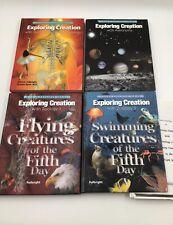 LOT Apologia Young Explorer Series Exploring Creation Zoology Astronomy Anatomy