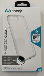 Speck Presidio Clear Case Superior Protection Cover for iPhone 8 Plus 7 Plus NIB