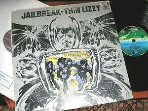 THIN LIZZY   -       Jailbreak,     ORIGINAL 1976 UK LP / inner