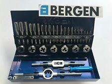 Bergen 32 Piece Metric Tap and Die Set Tape Plug Bottoming M3-M12  2553