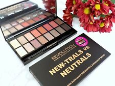 Revolution Eyeshadow Palette New-Trals vs Neutrals Vegan Cruelty Gluten Free