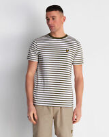 Lyle and Scott Men Breton Stripe T-shirt - Cotton