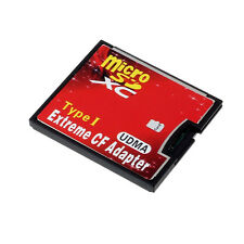 Micro SD TF SDHC To Type I 1 Compact Flash Card CF Reader Adapter UDMA S9DS