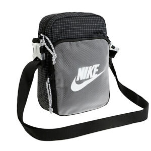 Nike Air Heritage 2.0 Crossbody Sling Small Bag Multiple Compartments CV1408-010