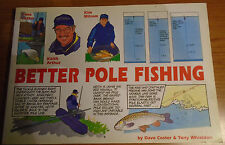 BETTER POLE FISHING by DAVE COSTER & TONY WHIELDON P/B **UK POST £3.25**