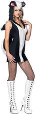 Morris Costumes Women's Stinking Cute Skunk Costume Black White S/M. UA83878SD