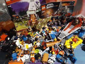 Huge Bulk Lego Minifigure & Partial Set Lot! Star Wars, Harry Potter, Parts More