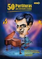 """VOLUMEN 5 - """"50 PARTITURAS PARA AFICIONADOS AL PIANO"""""""