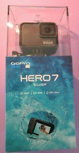 GoPro HERO 7 Silver 4K Action Waterproof Camera - BRAND NEW, SEALED FREE S&H US