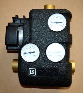 """LK810 ThermoMat Rücklaufanhebung 1"""" Energiesparpumpe und Isolierung Laddomat 65°"""