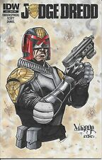 Judge Dredd #25 Original Art Sketch By Jose Varese And Lydic Custom Variant