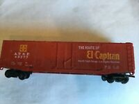 HO Scale Tyco AT & SF El Capitan Reefer -Freight Car