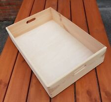 Wooden Serving Tray/Box 60 cm x 40 cm x 13 cm For Decoupage
