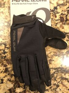 New Pearl Izumi Elite Gel Cycling Bike Women's Gloves Black Small