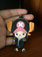 one piece chopper black hat silica gel key chain key Chains anime pendant new