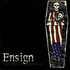 ENSIGN - THE PRICE OF PROGRESSION CD (2001) NEW JERSEY HARDCORE